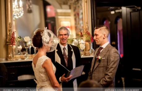 Cristina & Joshua wedding ceremony