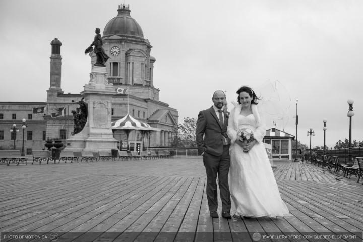 Autumn wedding Quebec City