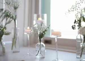 Ceremony floral decor