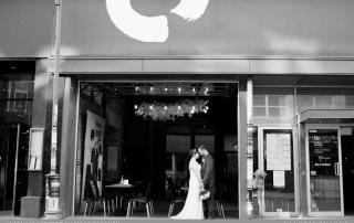 Intimate wedding Quebec City R&M Le Cercle dinner Saint Roch restaurant