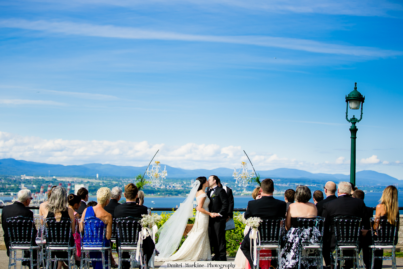 Wedding Ceremony Celebrated On The Plains Of Abraham Quebec City