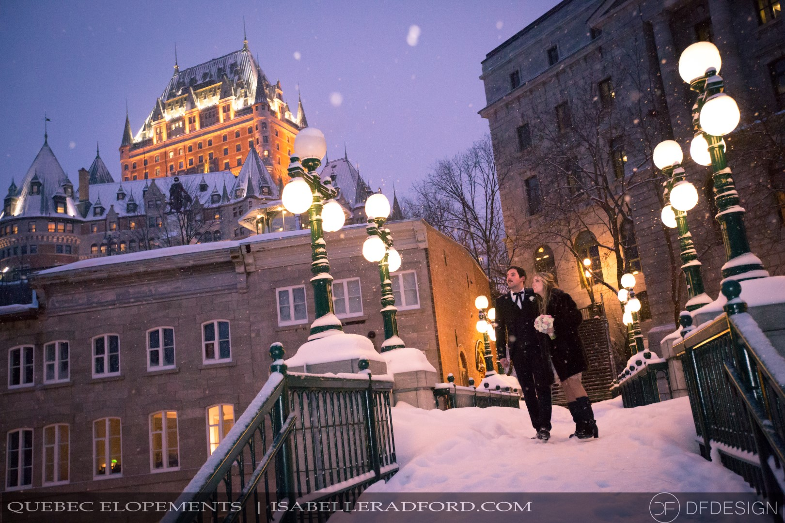Mariages Intimes - Quebec Elopements