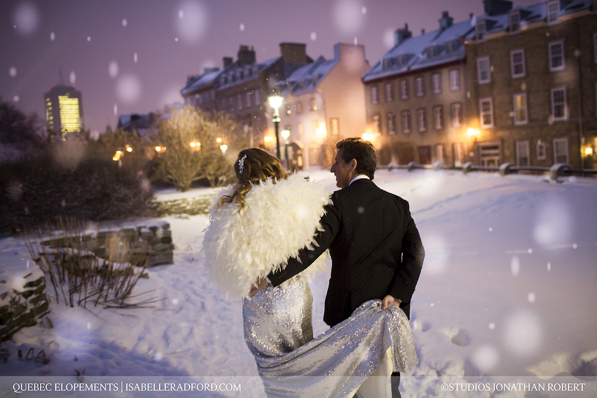 Winter Wedding In Quebec City